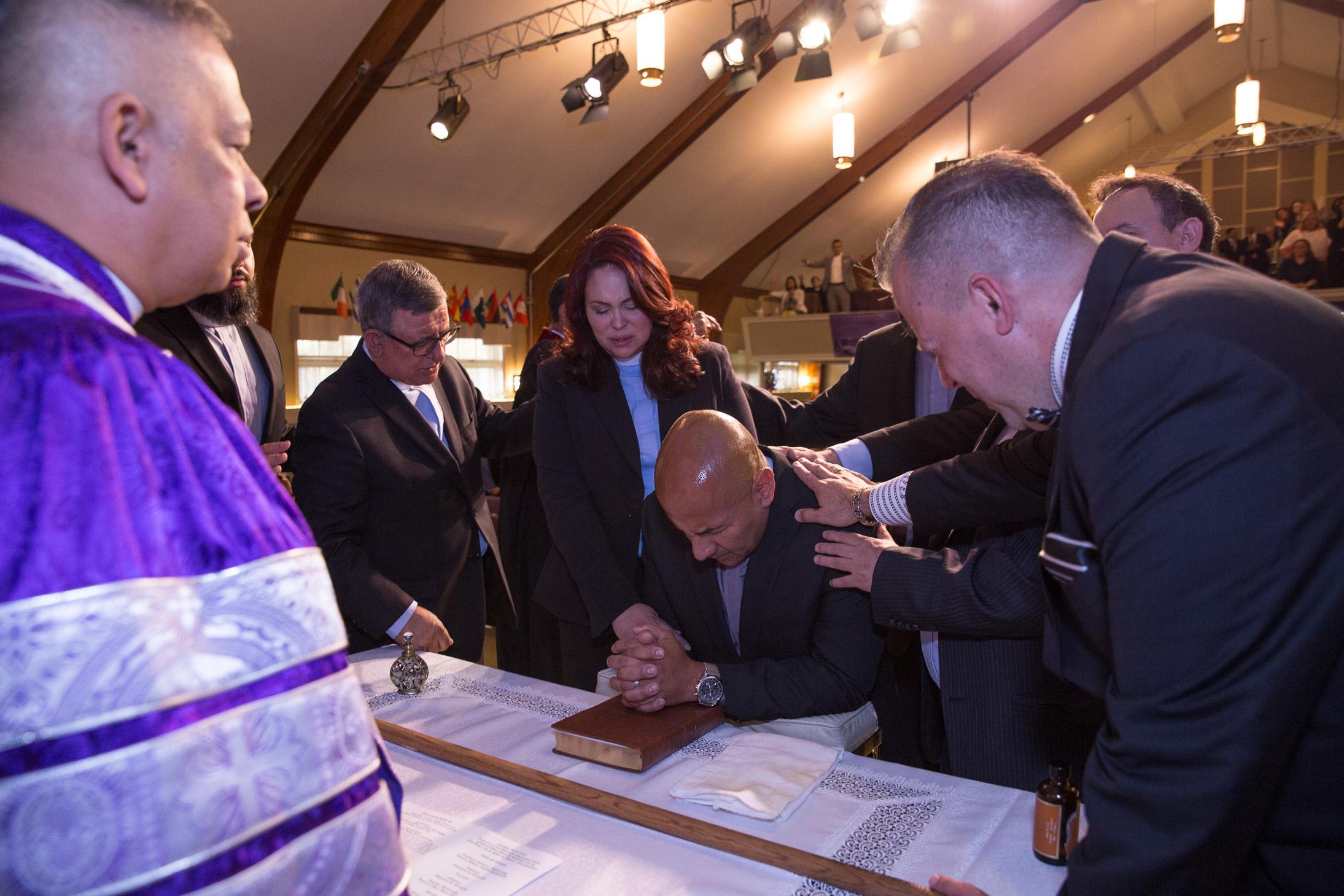 Ceremony fot the Installation of Rev. Luciano Padilla