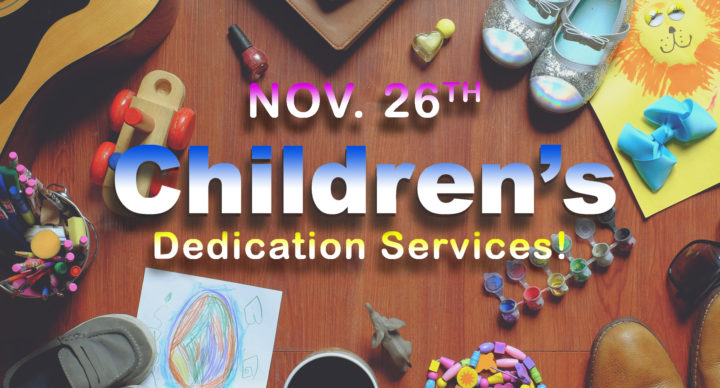 Children's Dedication Service