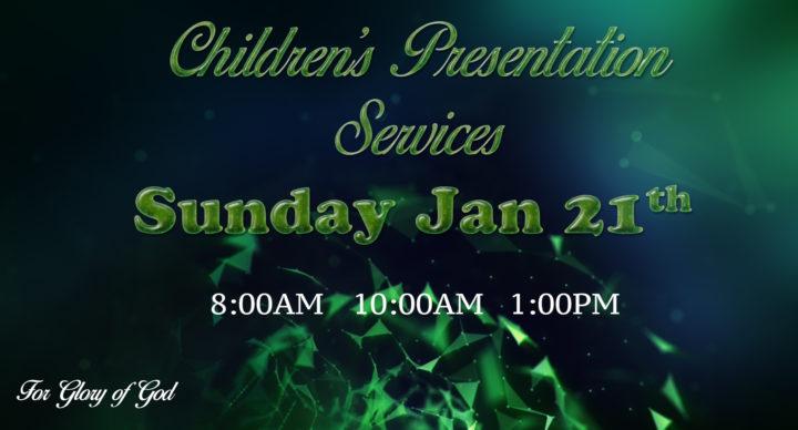Children's Presentation Services