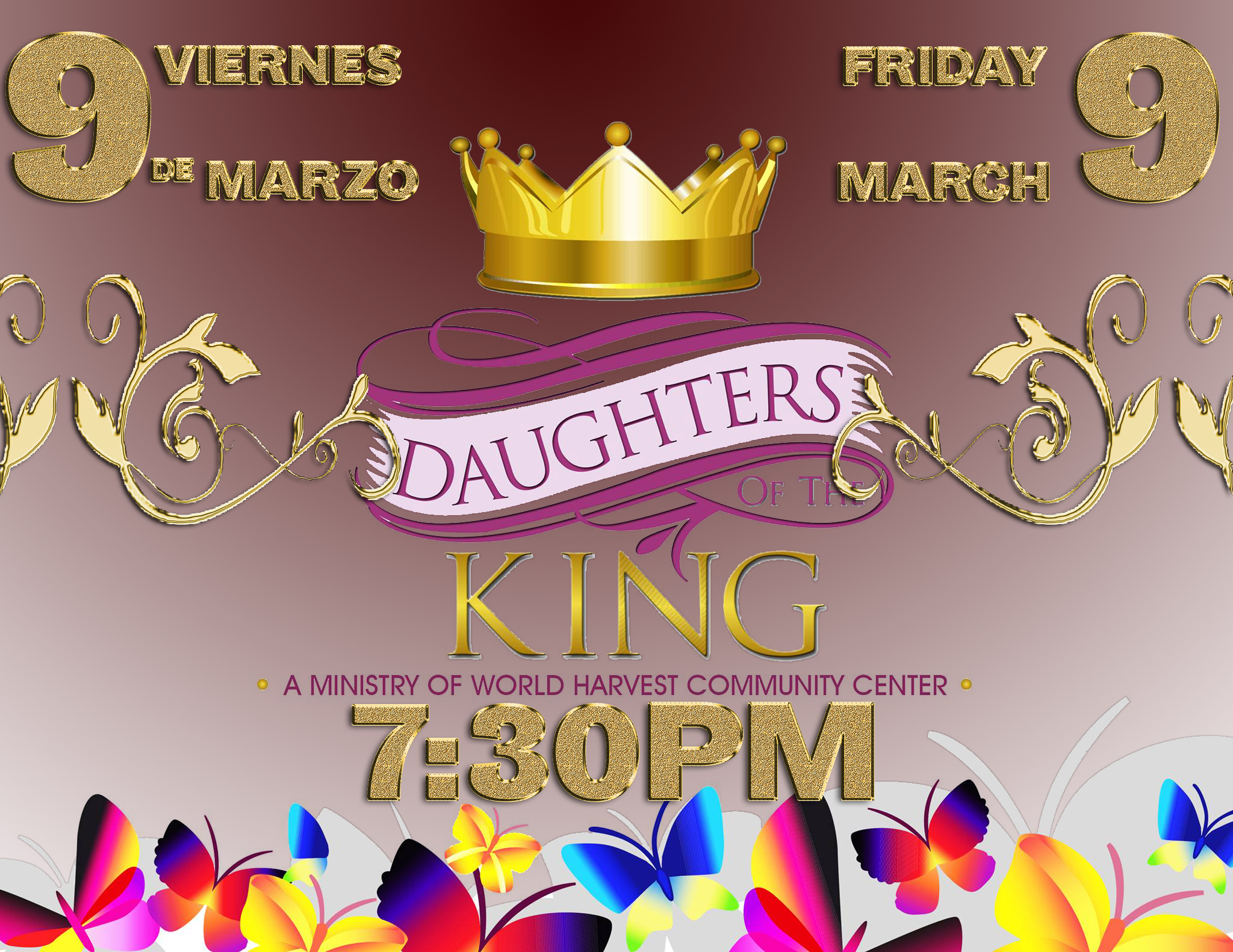 Daughters Of The King Fri. March 9th