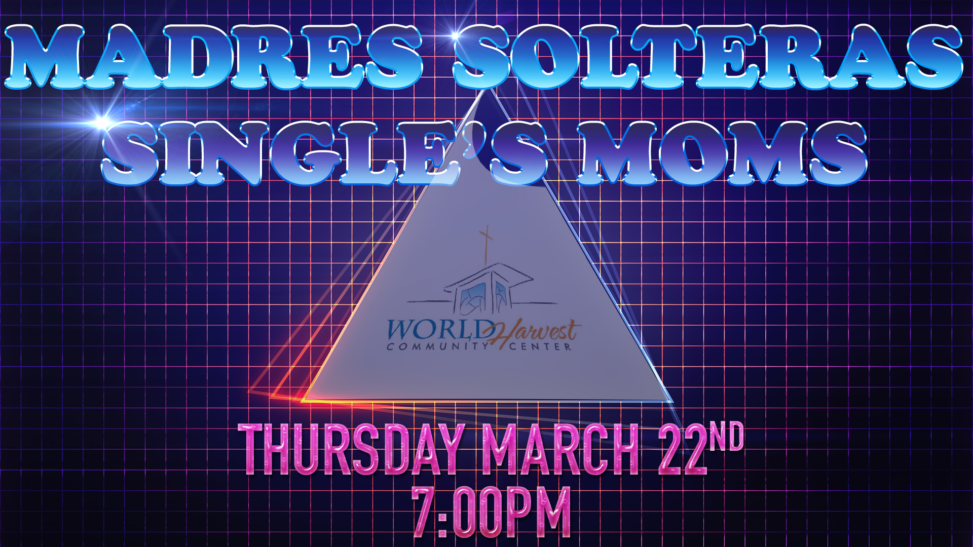 Singles Mom's Thursday March 22nd.