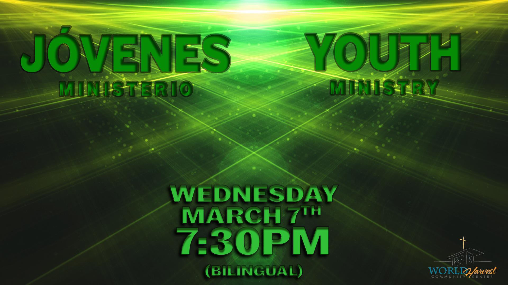 Youth Service Fri. March 9th