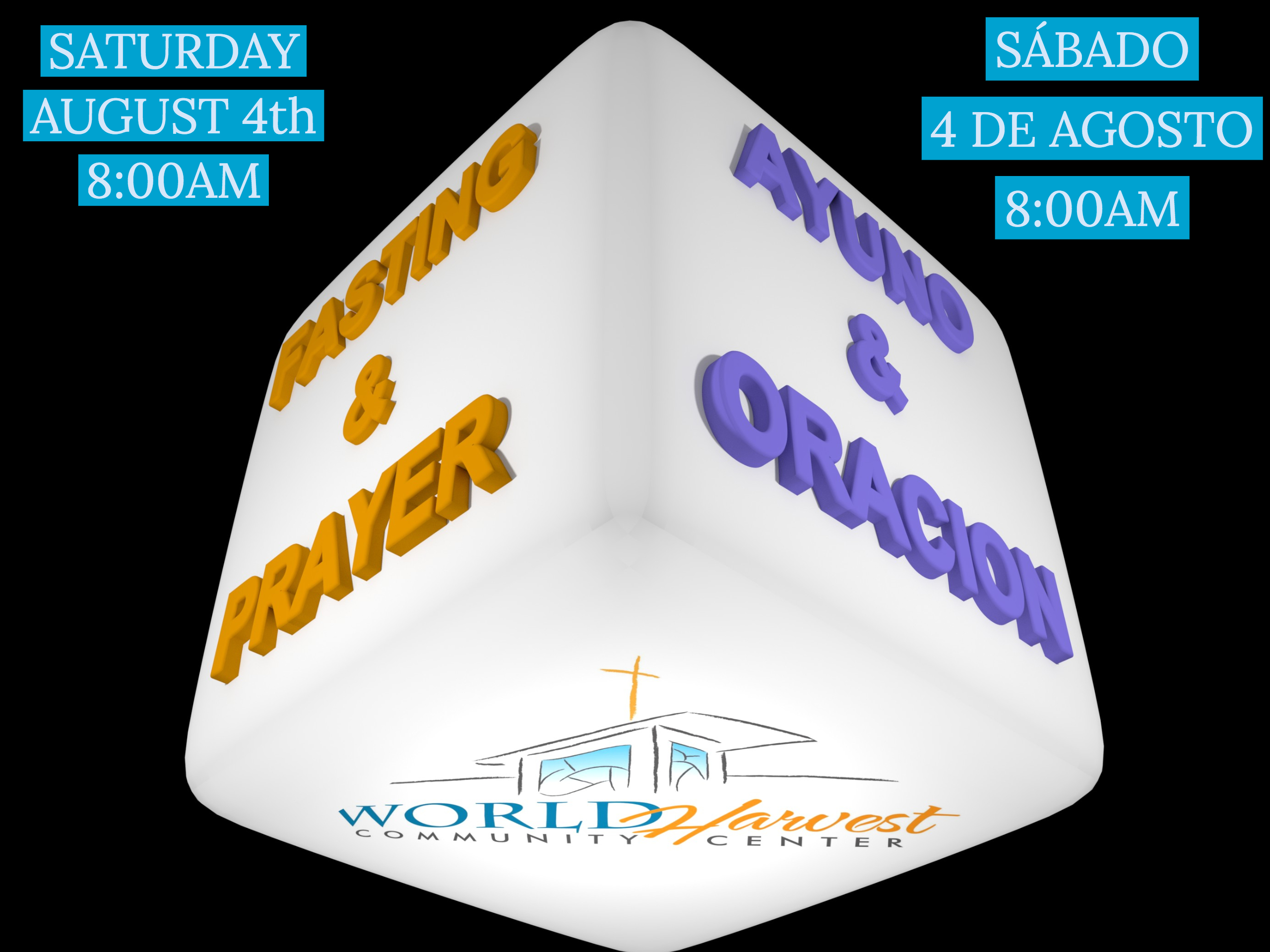 Fasting & Prayer Sat. August 4th