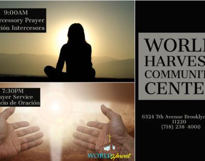 Intercessory and Prayer Service