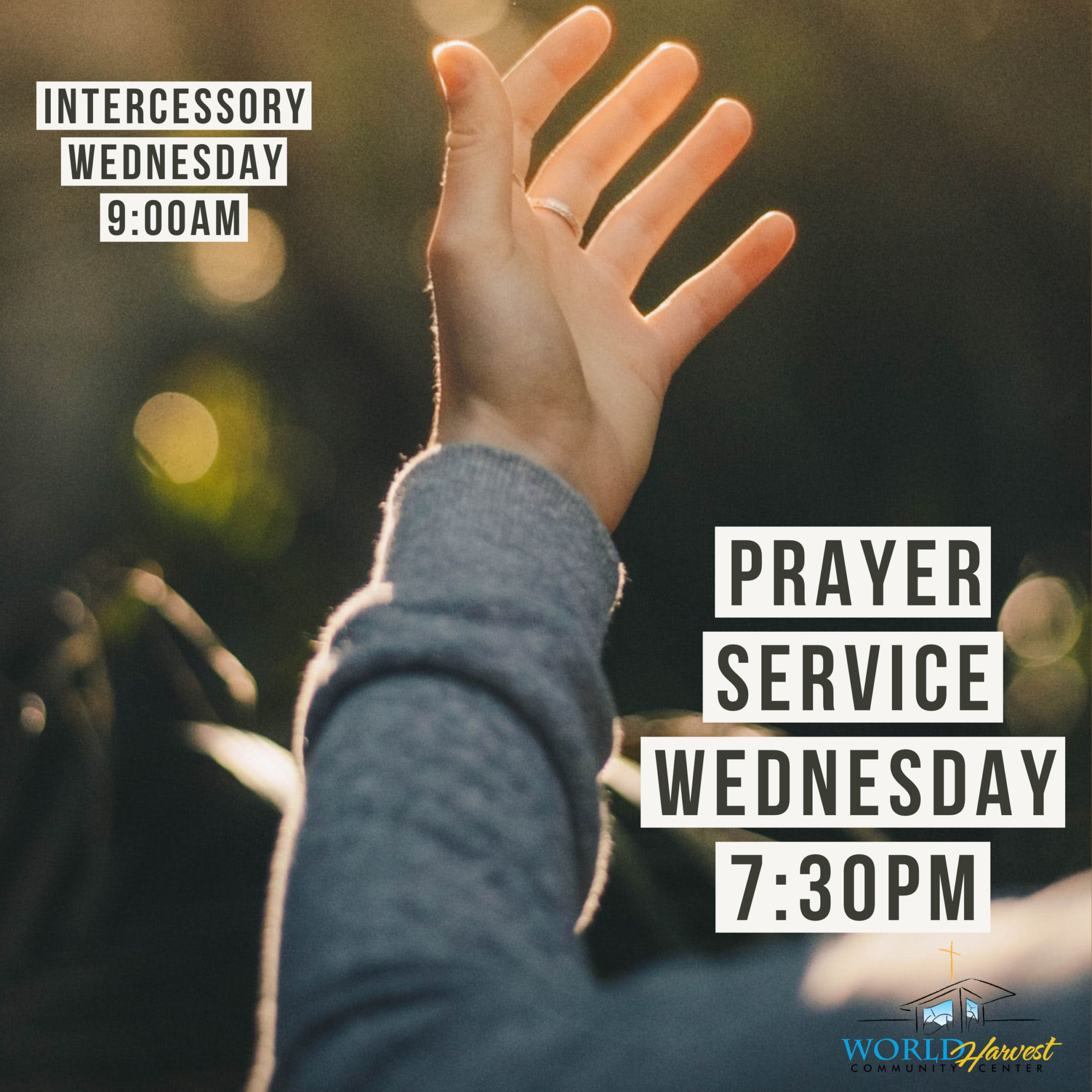 Intercessory  & Prayer Service