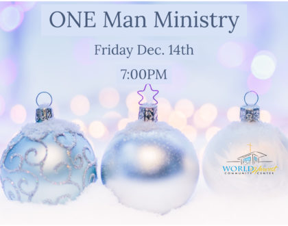 One Man Ministry
