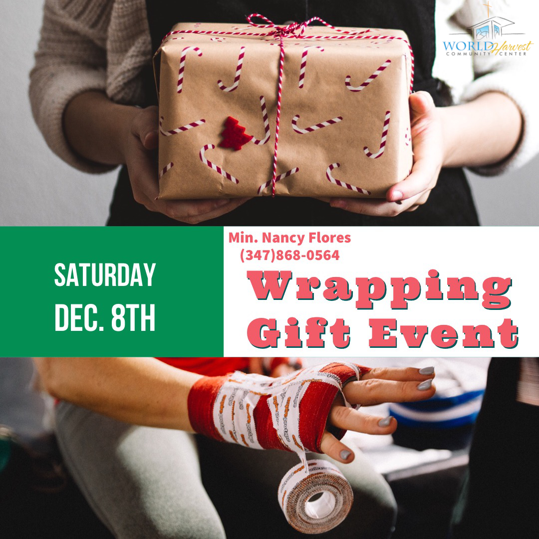 Wrapping Gifts Event